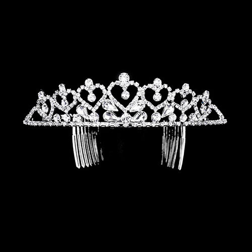 Silver Princess of Hearts Tiara