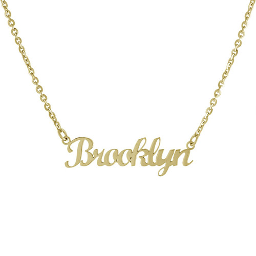 Our Classic Cursive Custom Name Necklace