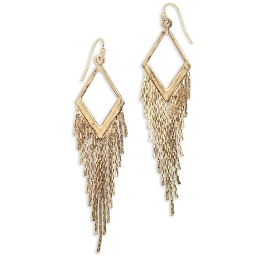 Tribe's Boho Drifter Gold Earrings