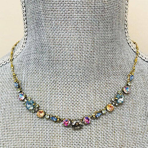 Sorrelli Washed Pastel Crystal Necklace