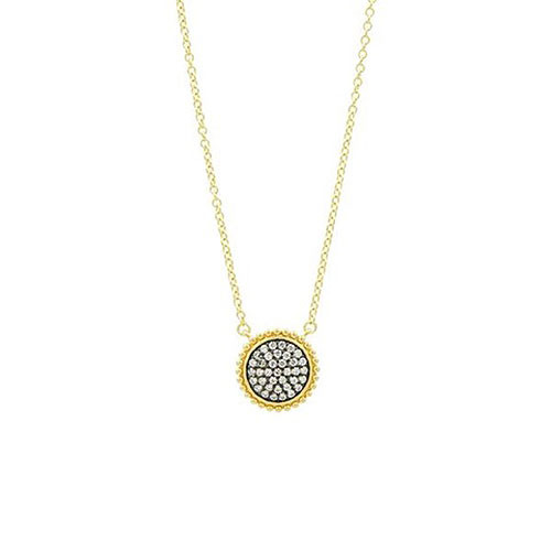 Freida Rothman Starburst CZ Necklace
