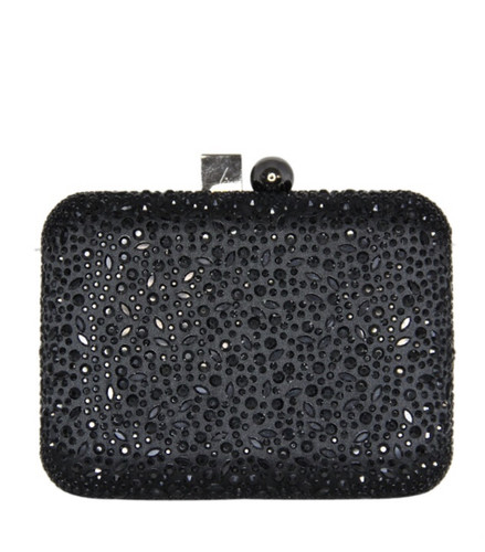 Jet Black Crystal Cube/Ball Hard Clutch