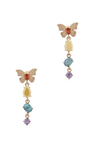 Kyky&Zo's Butterfly Chain Earring