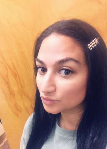 "Crystal ""KISS"" Hair Bobby Pins"
