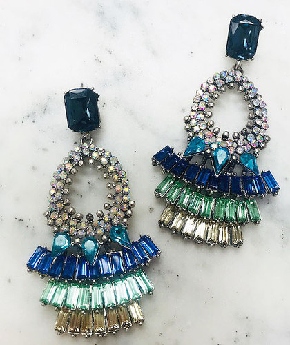 """""""Make an Entrance"""" Luxury Crystal Statement Earring"""