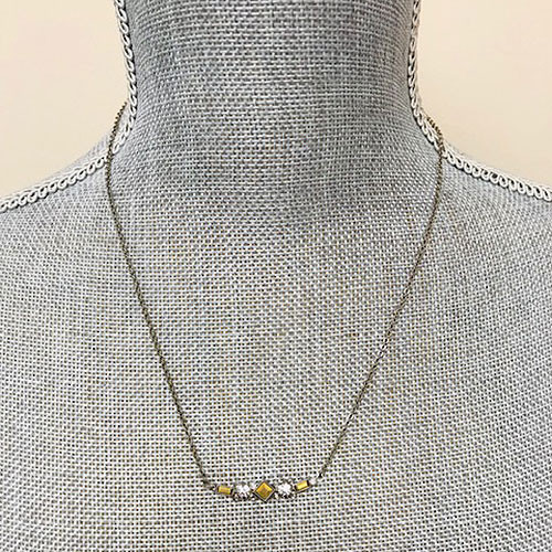 Sorrelli Golden Crystals Necklace