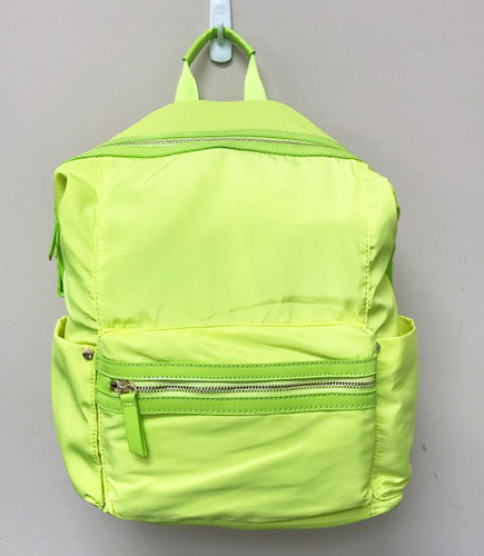 Neon Yellow/Green Zenon Backpack