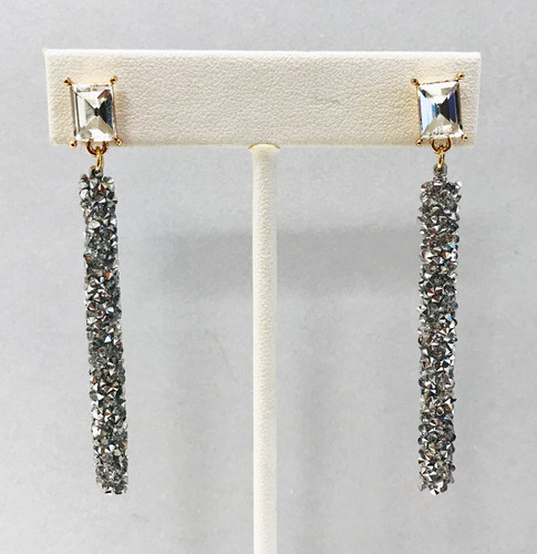 Crystal Moonbeam Dangling Earring