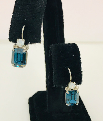 Sorrelli Montana Blue  Euro Wire Earrings