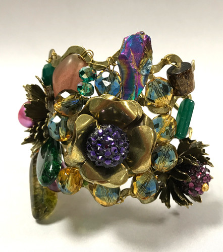 "Frangos Embellished ""To Die For"" Cuff"