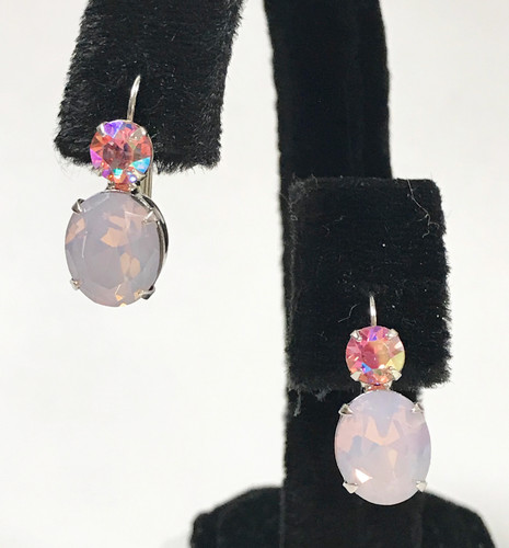 Sorrelli Darling Pink Duo Earring