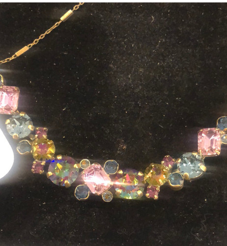 Sorrelli Jewel-tone Crystals Necklace
