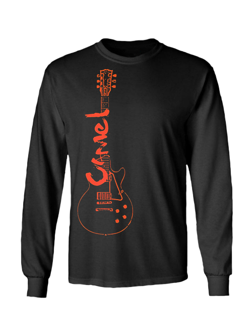 Long Sleeve T-shirt - CAMEL Guitar logo