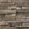 Ledge Field Grey Stacked natural thin stone