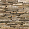 Ledge Rumney Golden Stacked natural thin stone