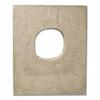 Utility Lightbox Textured Tan (Buckskin) Eldorado stone accent