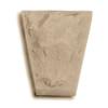 Ashlar Head Keystone Tan (Buckskin) Eldorado stone accent