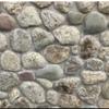 Round Acushnet natural thin stone
