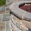 Artisan Wall & Column Caps Appalachian Grey natural stone accent