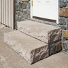 Classic Steps Autumn Brown natural stone accent