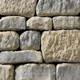 Mixed Blend Tumbled Windsor Bay natural thin stone
