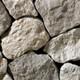 Round Laconia Grey natural thin stone