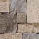 Square & Rectangular Mocha Cream natural thin stone