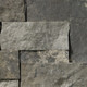 Square & Rectangular Charred natural thin stone