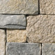 Square & Rectangular Tumbled Grey Buff Manor natural thin stone