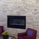 Ledge Suncook Stacked natural thin stone