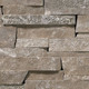 Ledge Suncook Silver Stacked natural thin stone