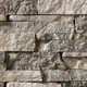 Ledge Lincoln Grey Stacked natural thin stone