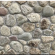 Round Acushnet natural thin stone