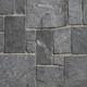 Square & Rectangular Smokey Mist natural thin stone