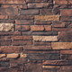 Country Ledgestone Red Rock Cultured Stone thin stone