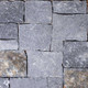 Square & Rectangular Silver Shadow natural thin stone