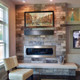 Mixed Blend Mount Cabot natural thin stone