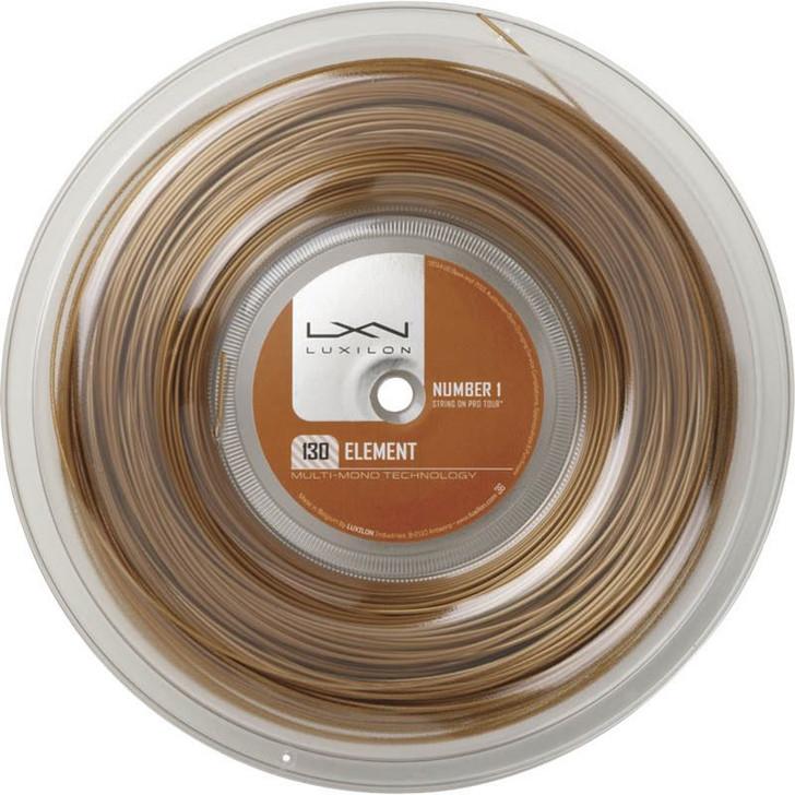 luxilon element 1.3 200m bronze