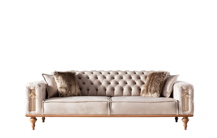 Beyoglu Tufted Sleeper Sofa