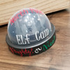 Fake Santa Security Cam personalized with Gloss 651 Vinyls.