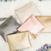 Metallic Zip Pouch all colors
