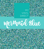 Siser Glitter Heat Transfer Vinyl: Mermaid Blue