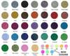 Siser Glitter Heat Transfer Vinyl Colors