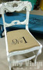 Chair personalized with our Siser EasyWeed Heat Transfer Vinyl Sheets