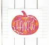 Thankful Pumpkin Digital Cutting File