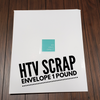 Scrap HTV Envelope - 1 POUND