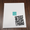 Adhesive Vinyl SCRAP Envelope - 1+ POUND