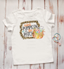 Leopard Frame Cutest Pumpkin in the Patch | Sublimation Transfer