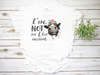I'm Not In The Mood Floral Cow | Sublimation Transfer