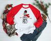Let it Snow Snowman | Sublimation Transfer